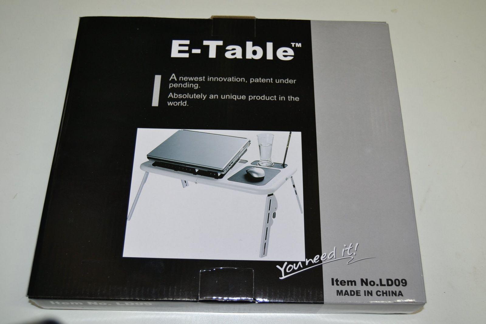 Skládací stolek pod notebook E-table