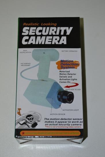 Bezpečnostní kamera - maketa - věrohodná atrapa