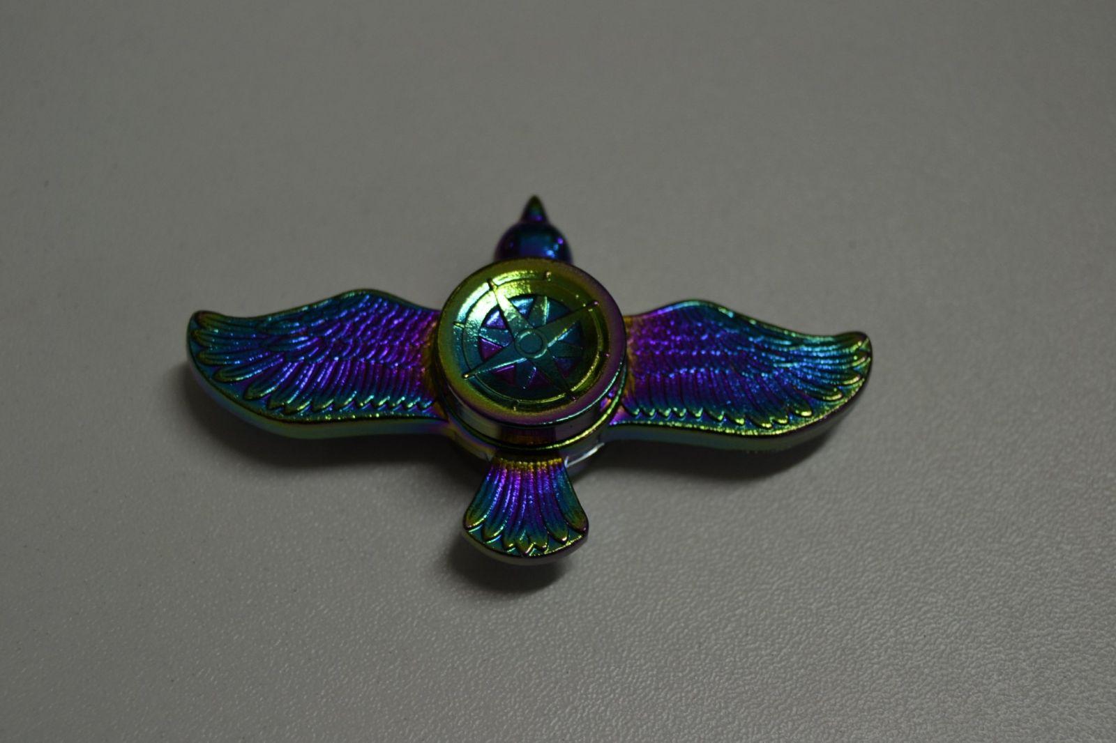 Fidget spinner celokovový č.18 - pták