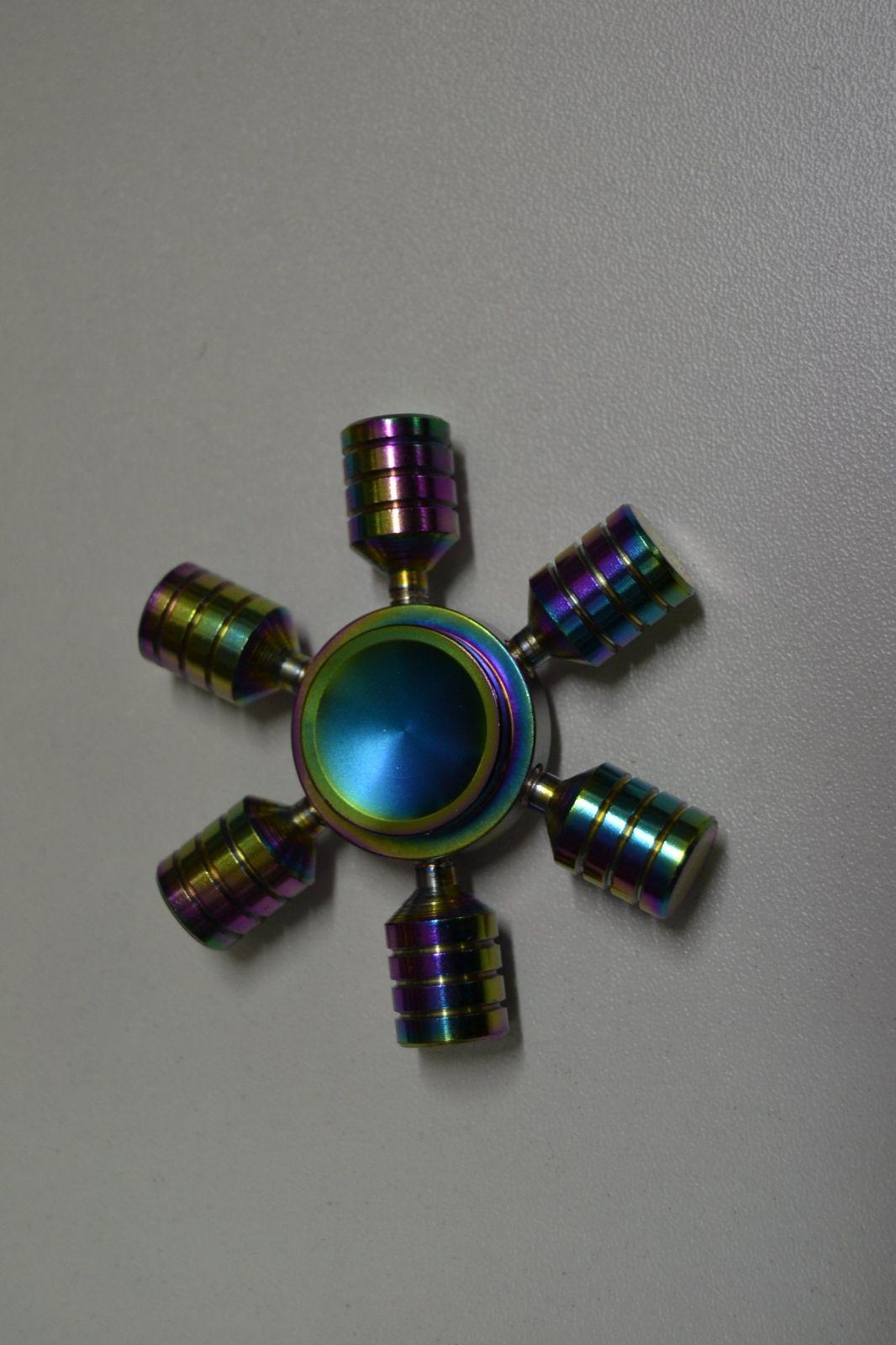 Fidget spinner celokovový č.3