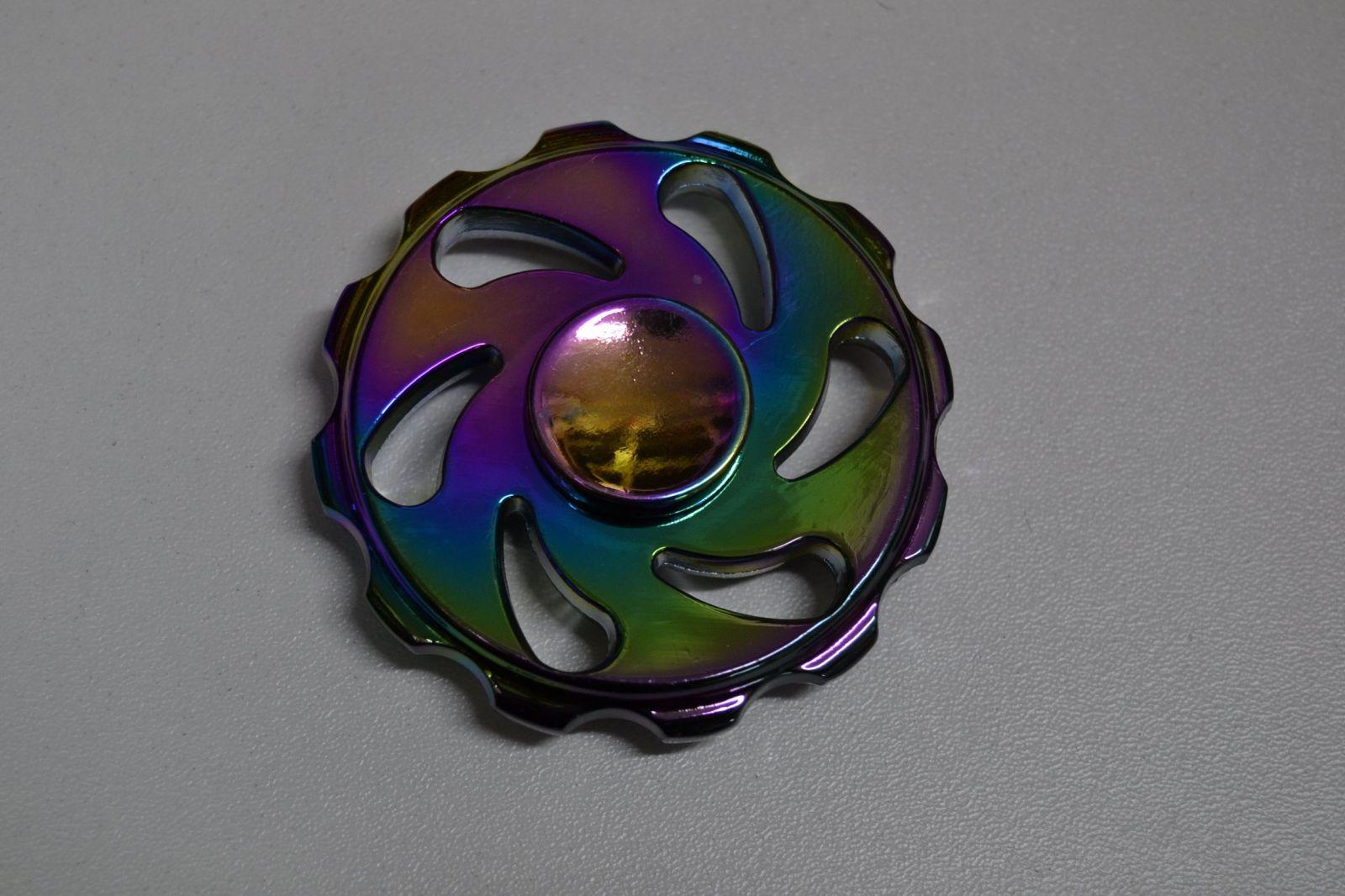 Fidget spinner celokovový č.7