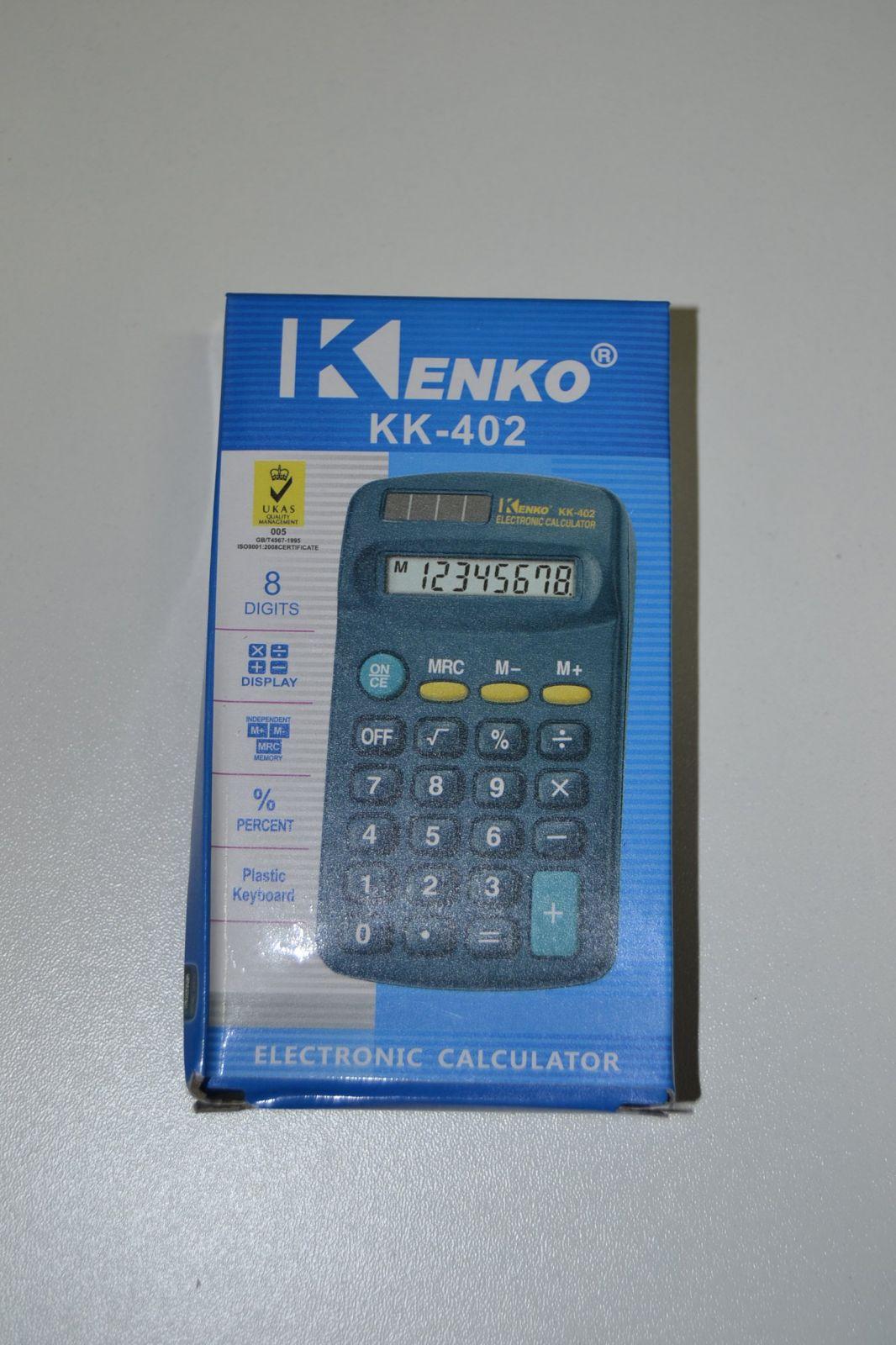 Kalkulačka na tužkovou baterii