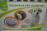Luxusní přepravka na kočky a malé psy - skládací