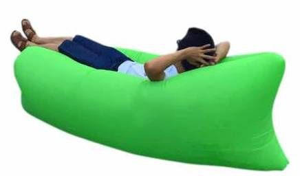 Samonafukovací pytel Lazy Bag zelený