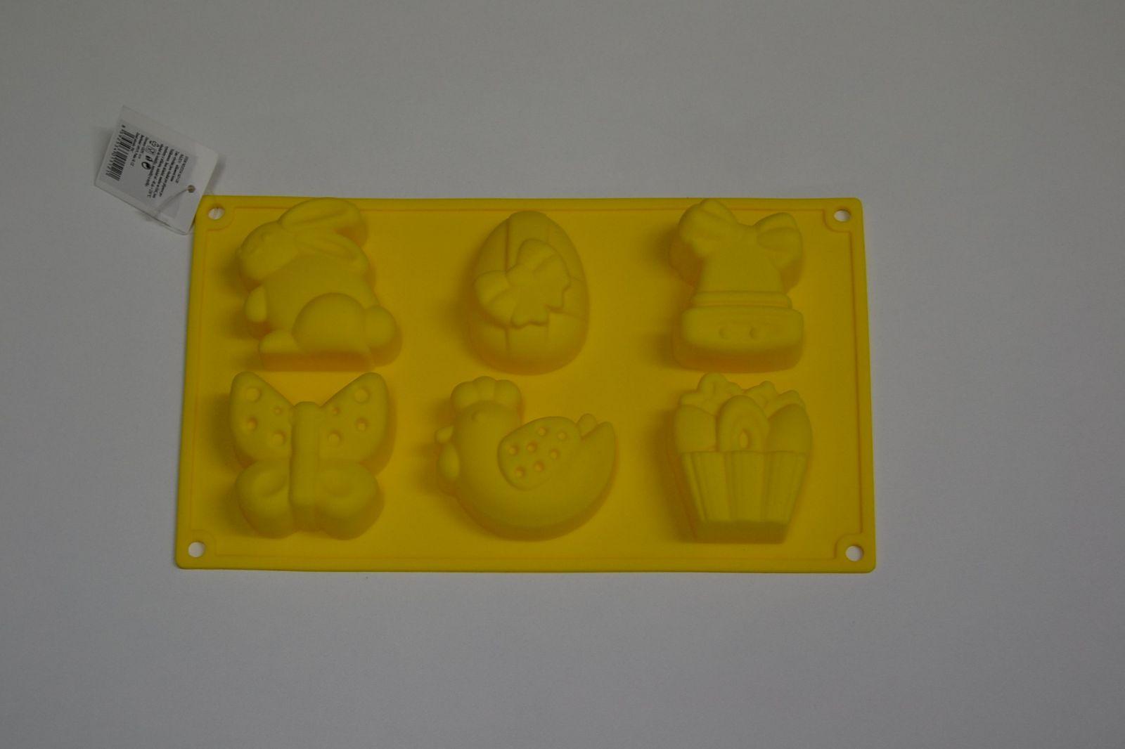 Silikonová forma na velikonoční muffiny - tvary