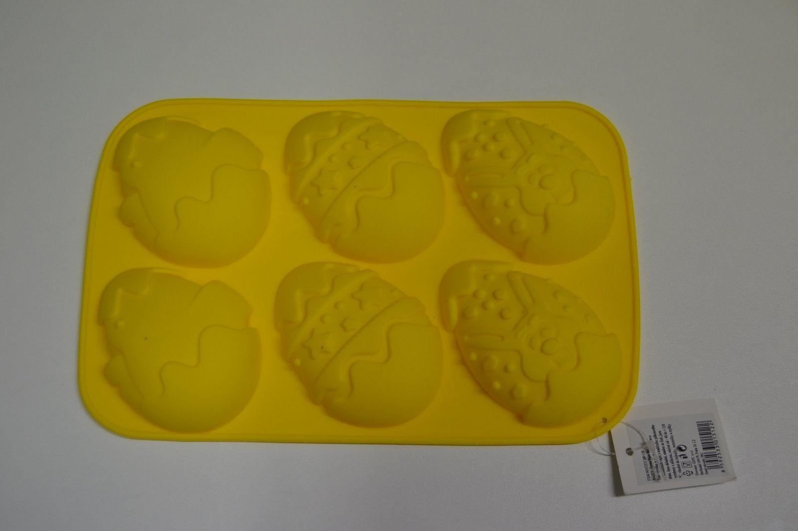 Silikonová forma na velikonoční muffiny - vejce