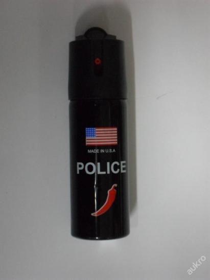 SLZNÝ SPRAY, SLZÁK, KASR POLICE USA 60ml