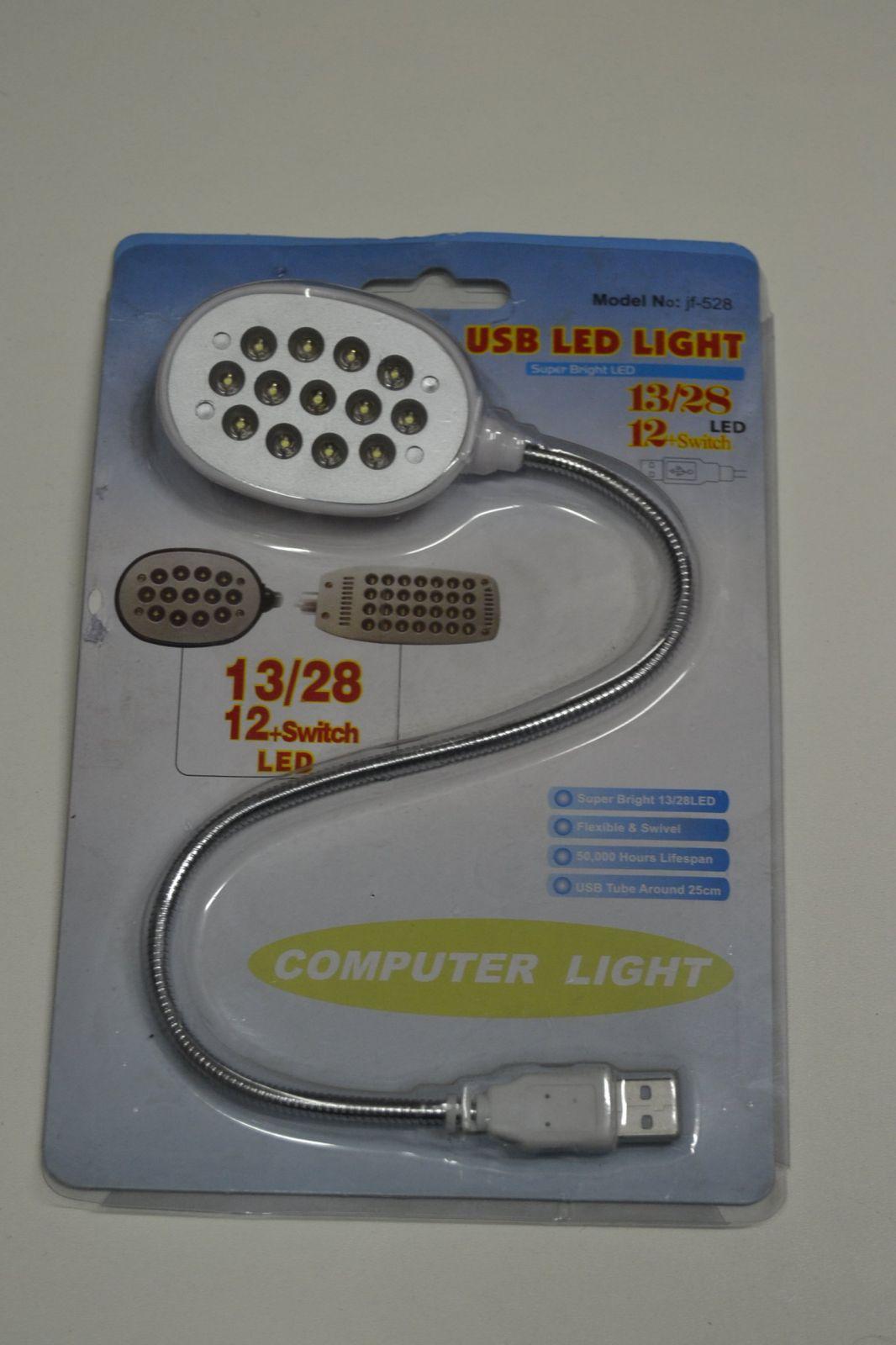 USB SVÍTILNA 13 LED PRO NOTEBOOK APOD.