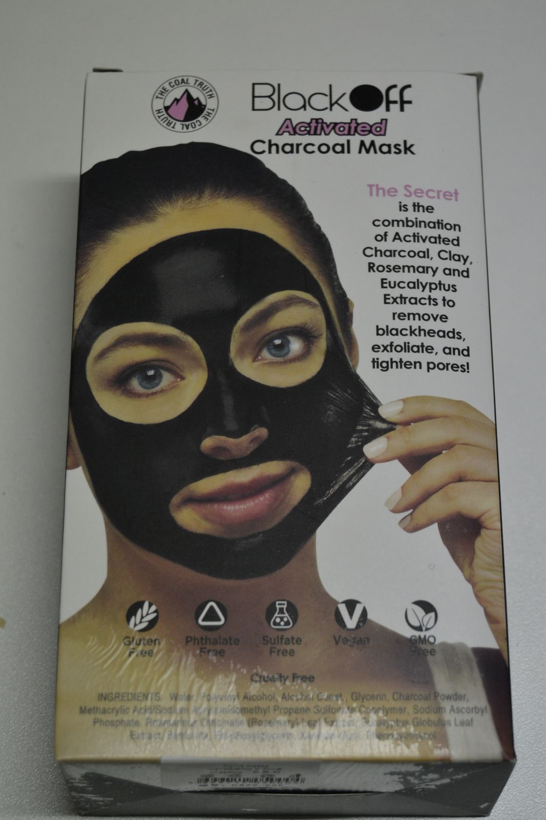 Black Off Maska - maska pro čištění pleti