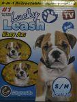 Obojek pro psy + vestavěné vodítko - Lucky Leash 2 v 1