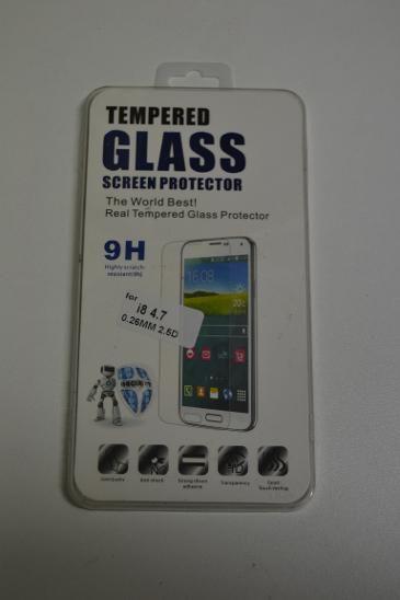 Ochranné sklo na iPhone 8 - tempered glass