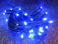 VÁNOČNÍ OSVĚTLENÍ 40 LED DIOD ZD modré