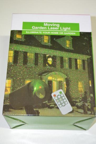 Venkovní laser, červený,zelený, projektor+ ovladač