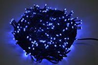VENKOVNÍ VÁNOČNÍ OSVĚTLENÍ 500 LED - MODRÉ