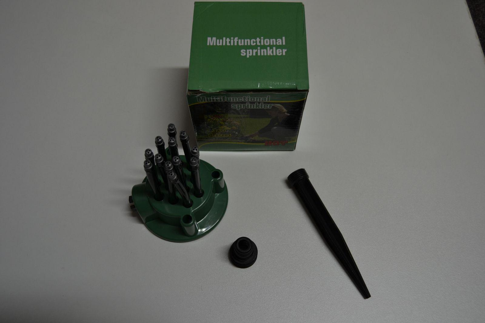 Zahradní rozstřikovač - multifunctional sprinkler