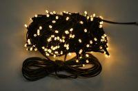 VENKOVNÍ VÁNOČNÍ OSVĚTLENÍ 210 LED - Růžové