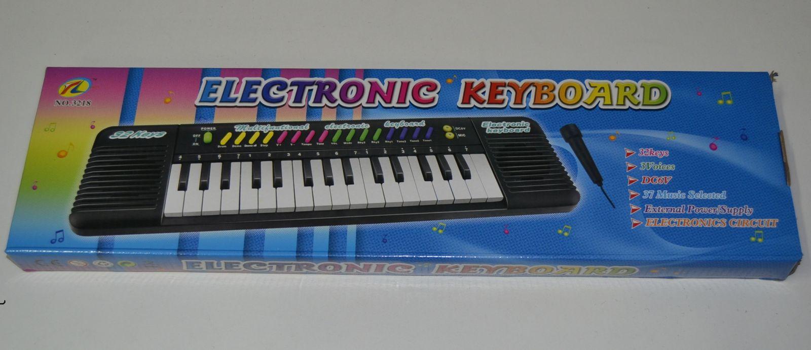 Dětské elektroncké klávesy na baterie - 3218, pianko