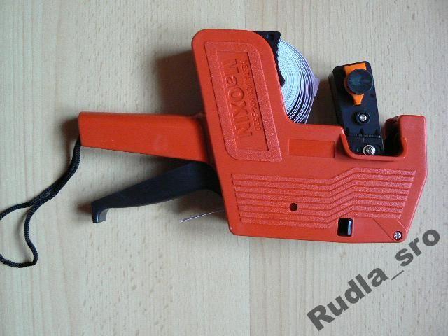 Etiketovací kleště jednořádkové MX 5500, etiketky