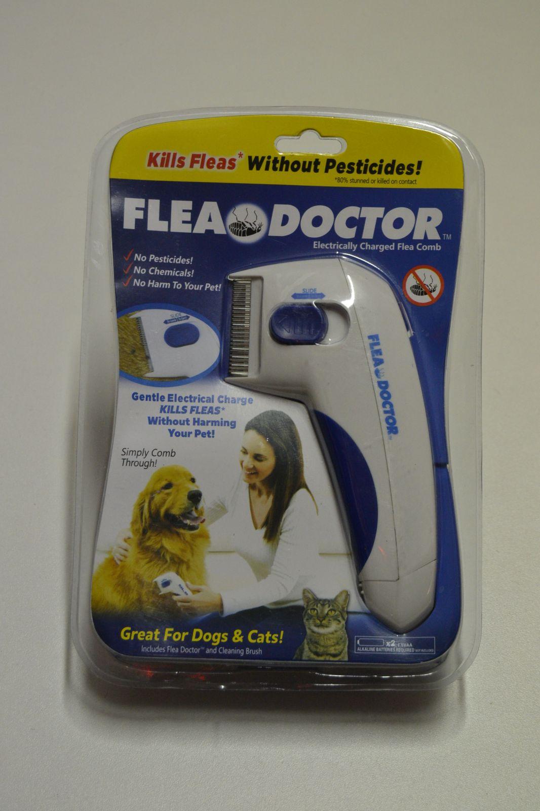 Hřeben na blechy pro psy a kočky - FLEA DOCTOR