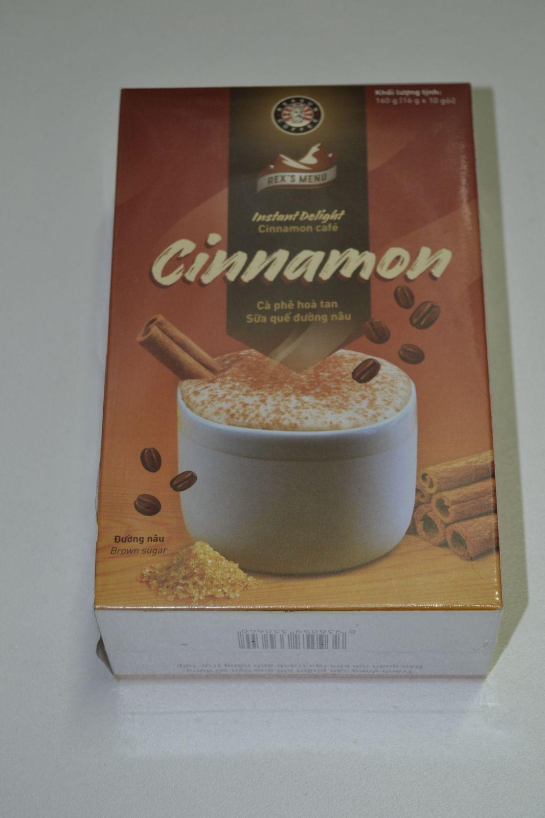 Instantní káva - Cinnamon café - Rexsun Cofee