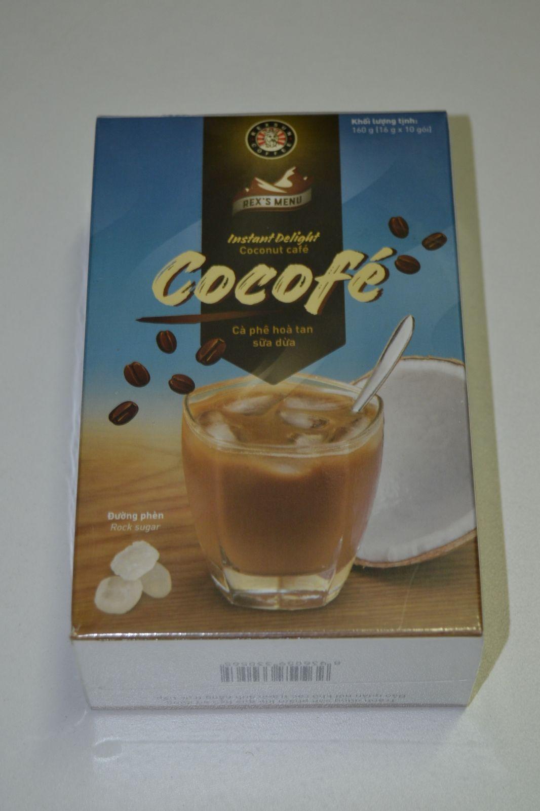 Instantní káva - Cocofé, coconut café - Rexsun Cofee