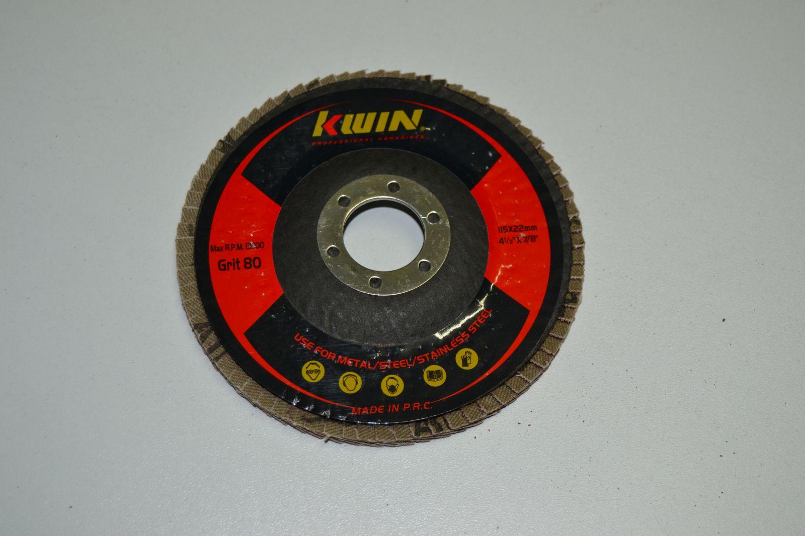 Lamelový kotouč do úhlové brusky 115 mm