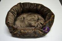 Pelech pro psy lux - hnědá kostka č.1