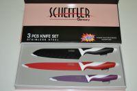 Sada nožů 3ks Schleiffer, nůž, nože