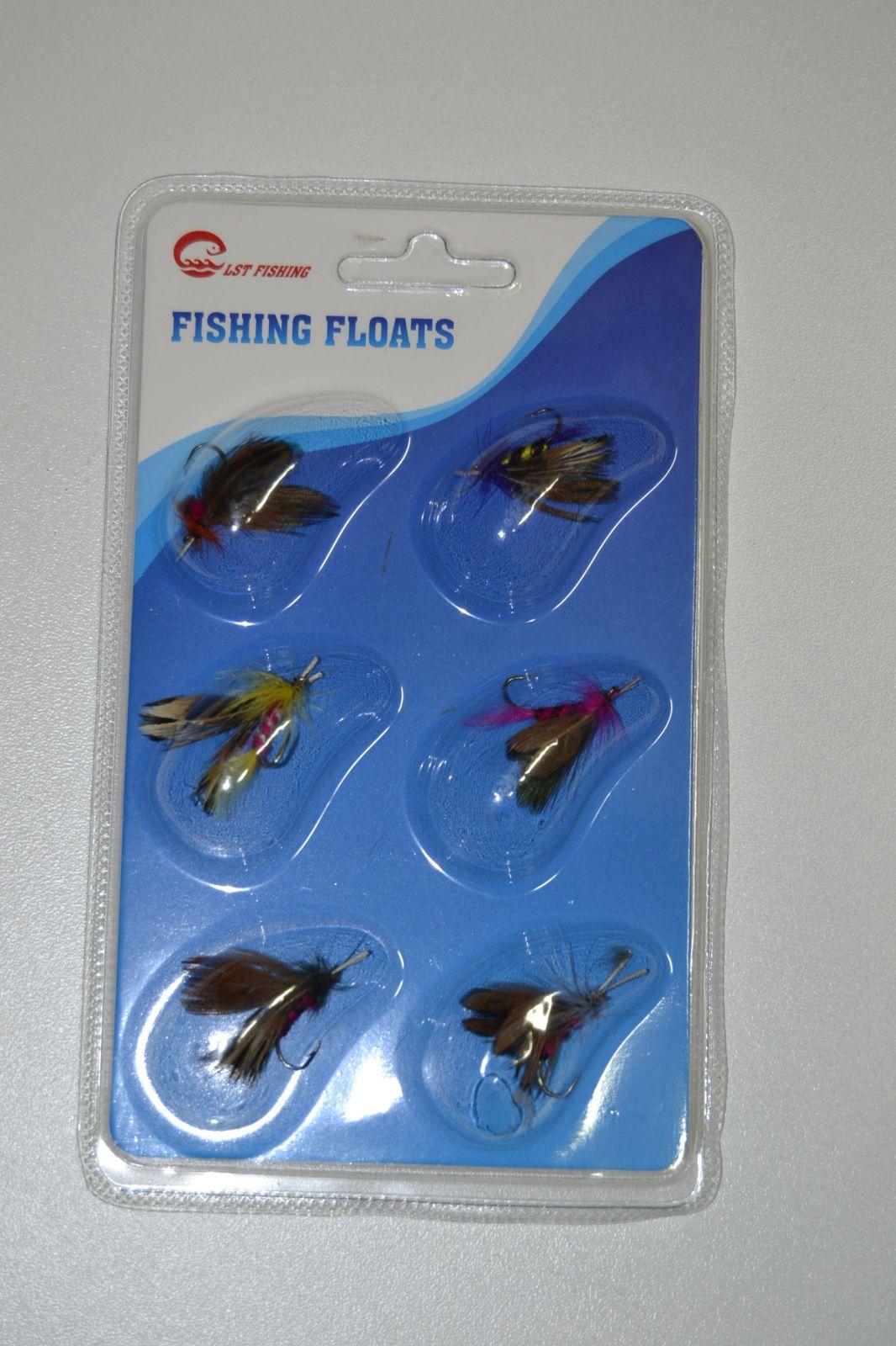 Sada rybářských mušek 6ks, muška, mušky