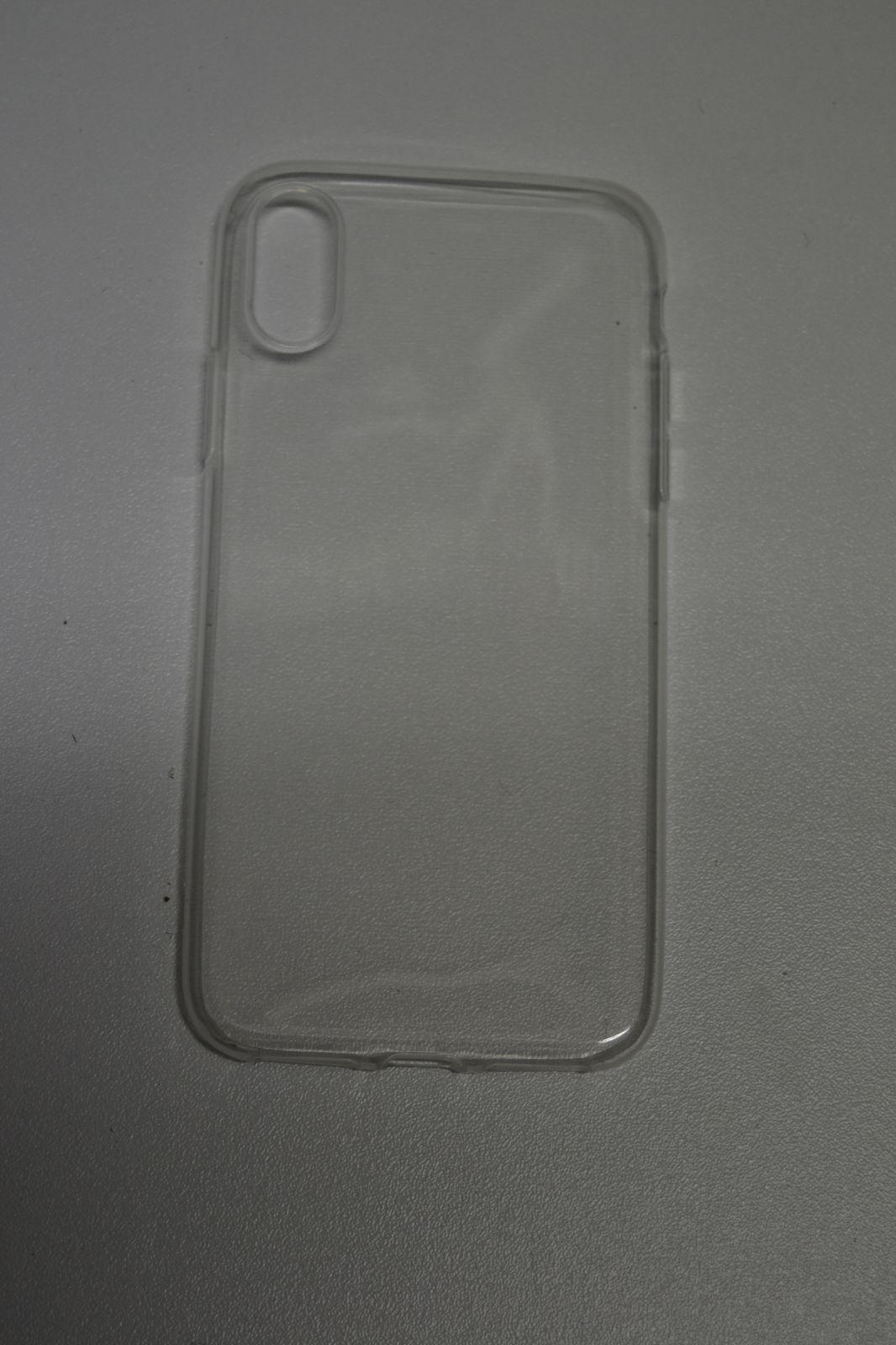 Silikonový kryt na mobilní telefon iPhone X 17e0403725c