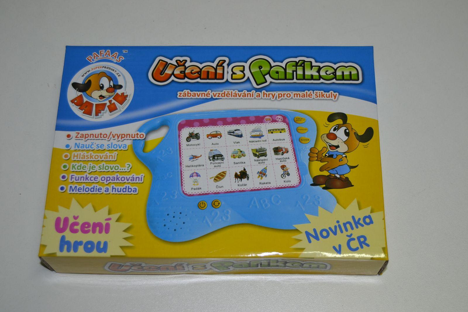 Učení s Pafíkem - naučná, vzdělávací hra