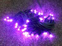 VÁNOČNÍ OSVĚTLENÍ 40 LED DIOD ZD fialové