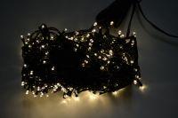 VENKOVNÍ VÁNOČNÍ OSVĚTLENÍ 300 LED - TEPLE BÍLÉ