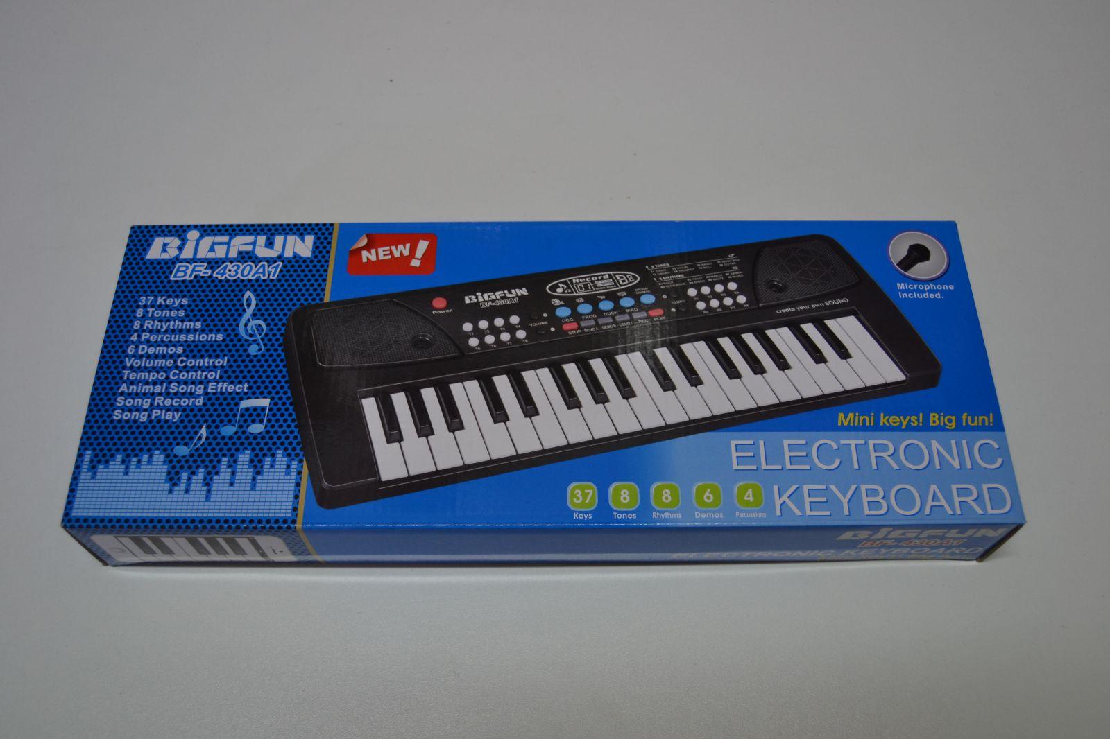 Elektronické klávesy BIGFUN BF - 430A1, piano, pianko
