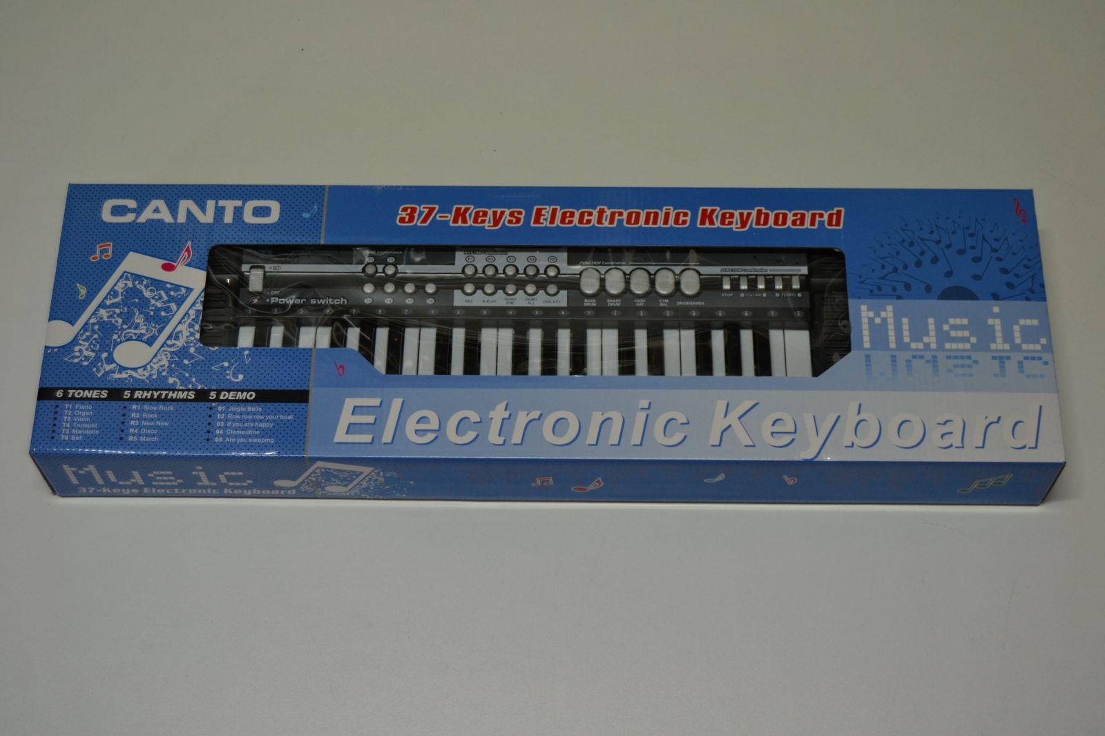 Elektronické klávesy CANTO HL-3811, piano, pianko