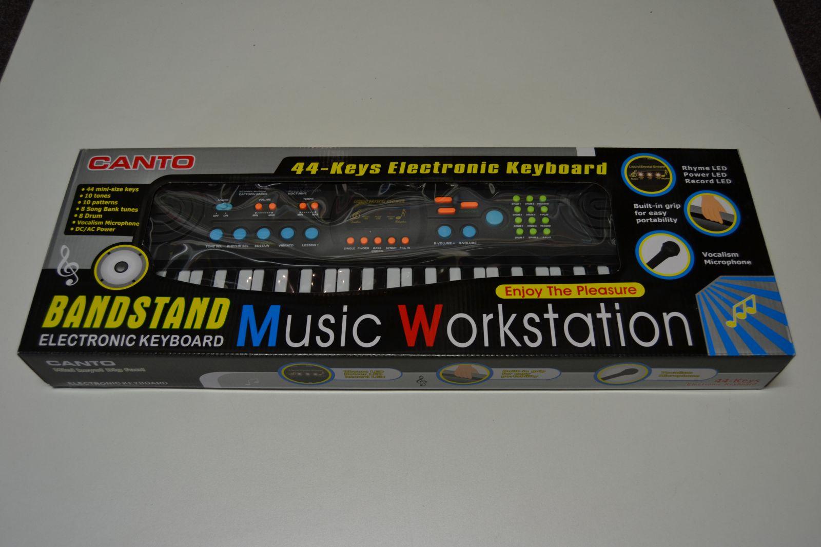 Elektronické klávesy CANTO HL-3826, piano, pianko