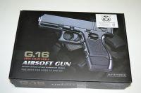 Kovová kuličkovka G16 - BB 6 mm - kuličková pistole