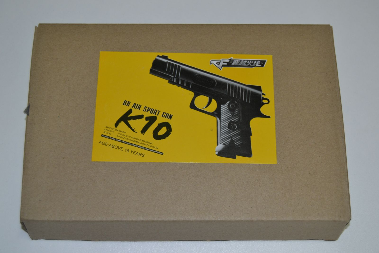 Kovová kuličkovka K 10, kuličková pistole, BB air sport gun