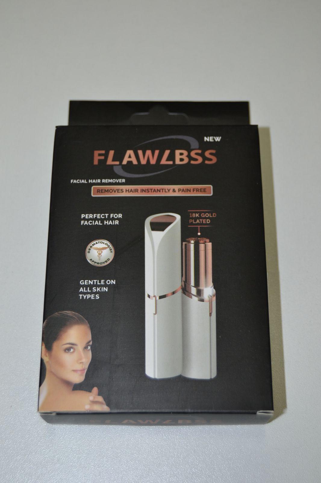 Odstraňovač obličejových chloupků - holící strojek FLAWLBSS