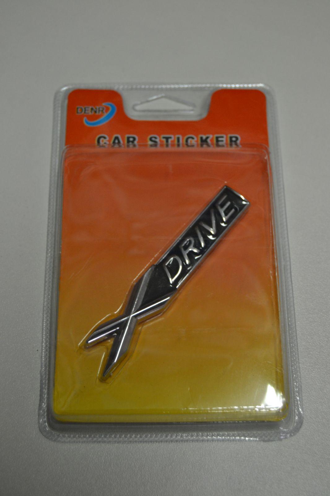 Plastický nápis na auto - samolepka - X DRIVE - BMW