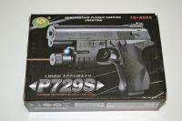 Plastová kuličkovka P729S, kuličková pistole, BB air sport gun