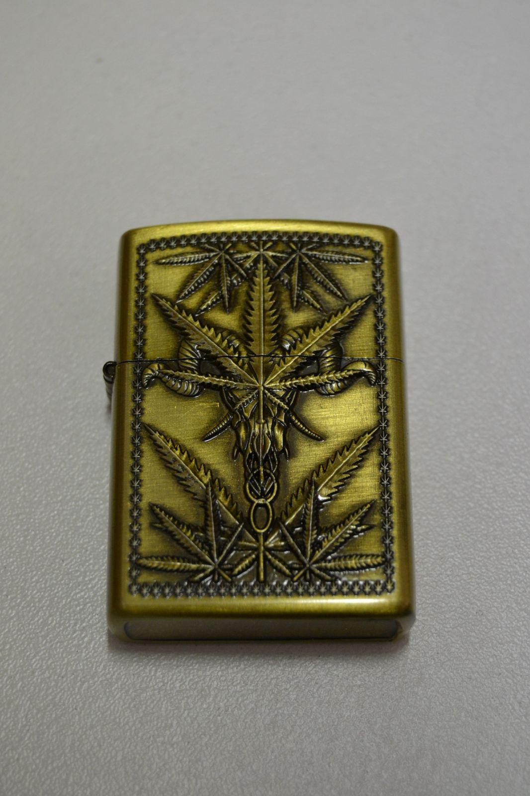 Benzínový zapalovač č. 67 - Cannabis