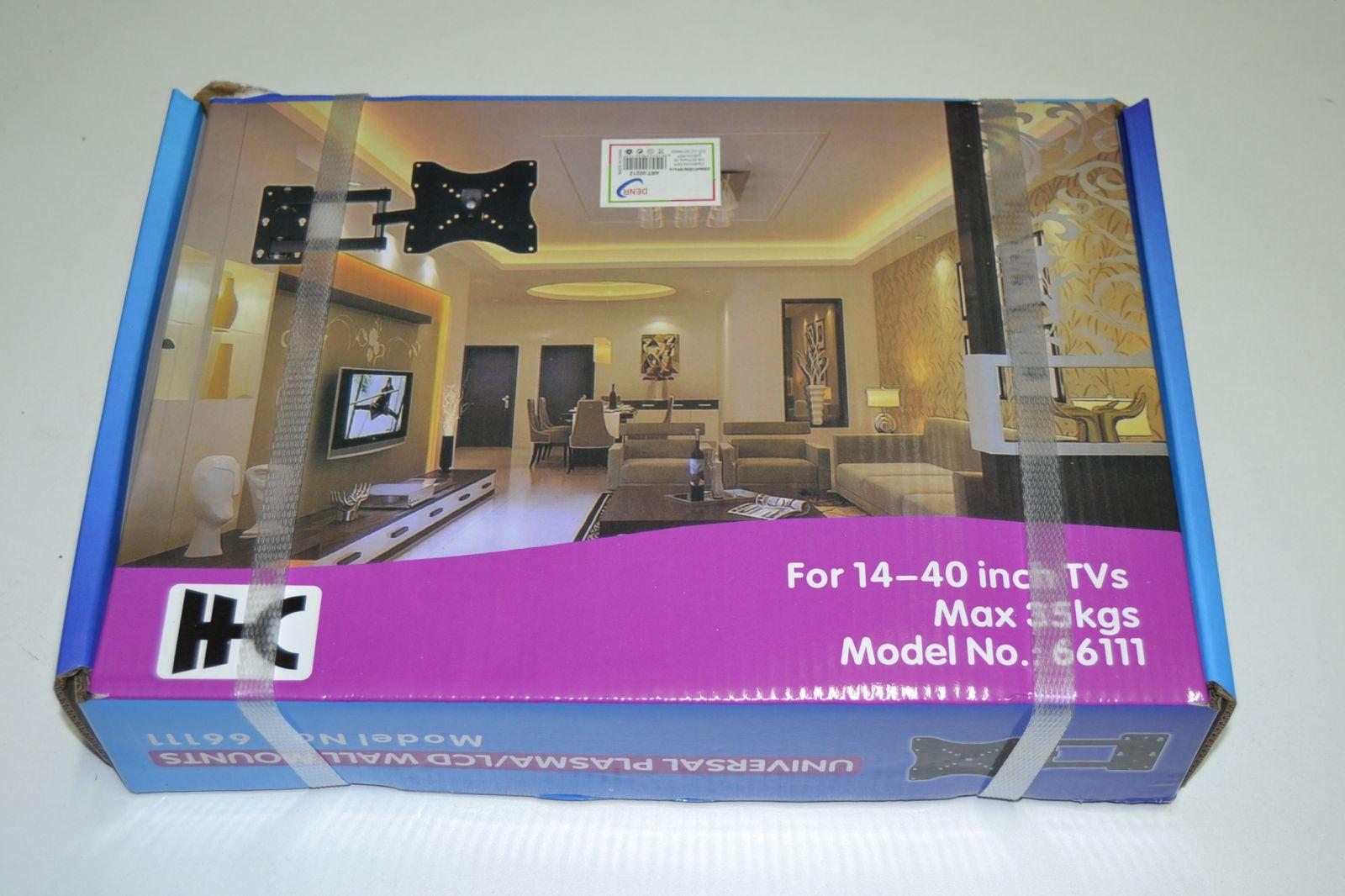 Nástěnný držák na TV 14 - 40 palců, max 35 kg