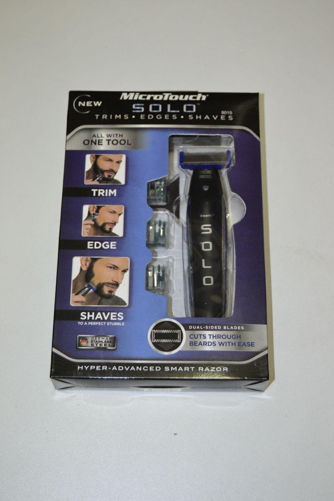 Zastřihovač na vousy a chlupy - Solo One blade - microtouch