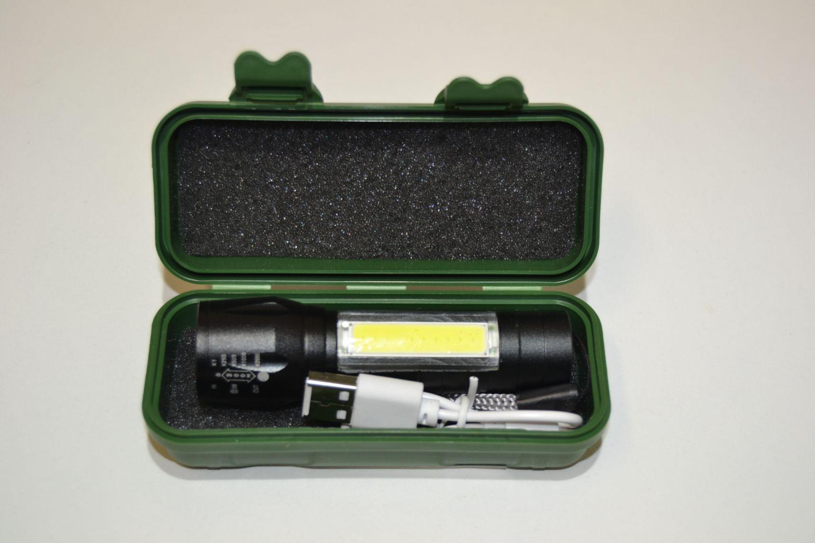 Akumlátorová mini svítilna
