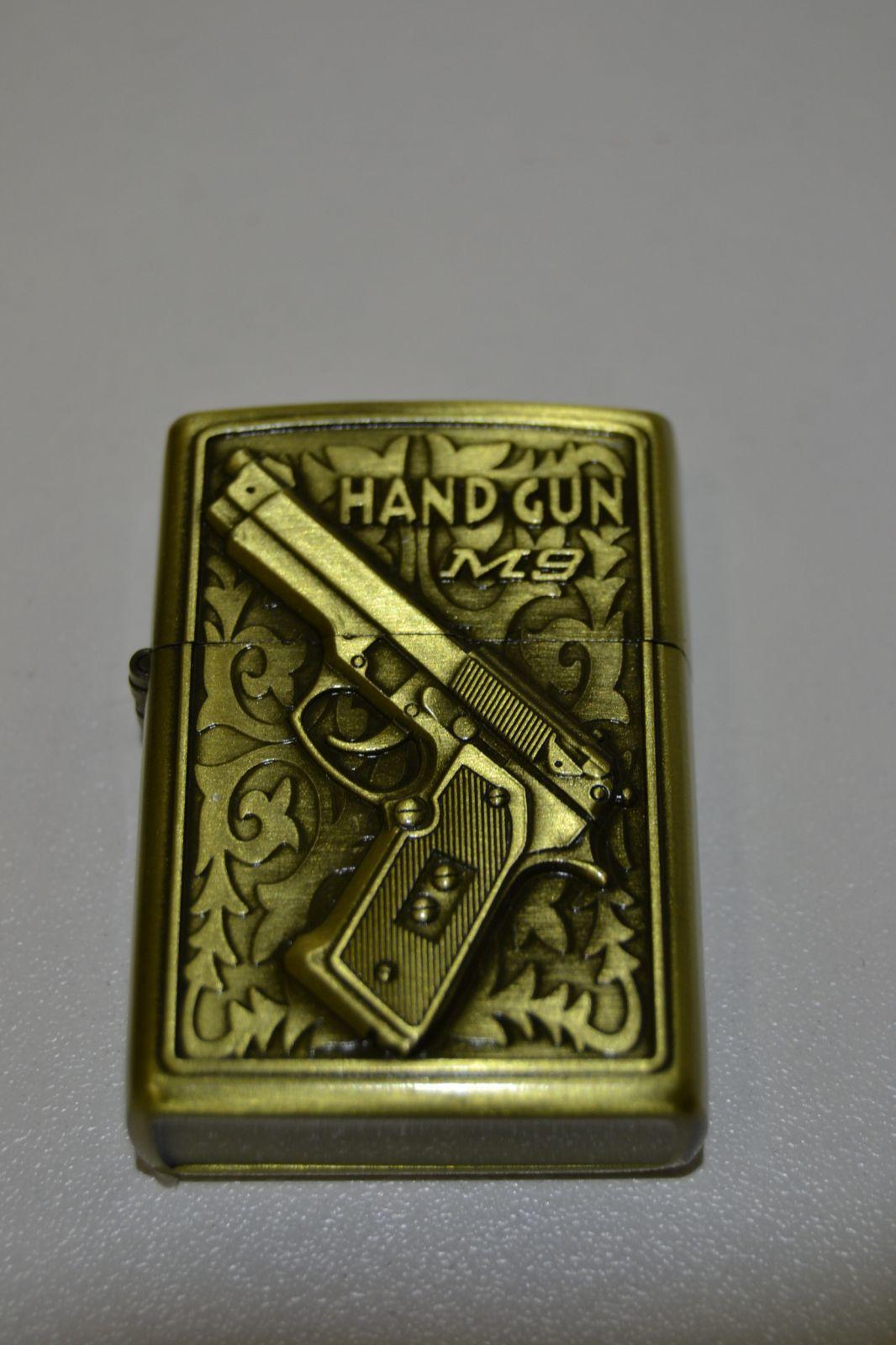 Benzínový zapalovač č. 82 - handgun M9
