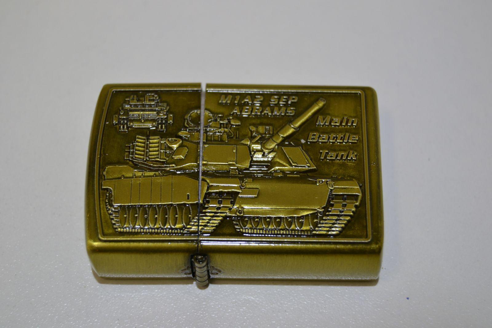 Benzínový zapalovač č. 87 - M1A2 Abrams