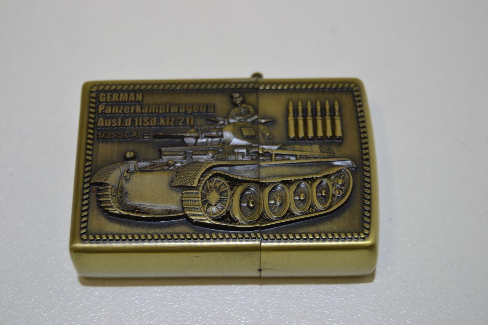 Benzínový zapalovač č. 91 - tank German Panther 2