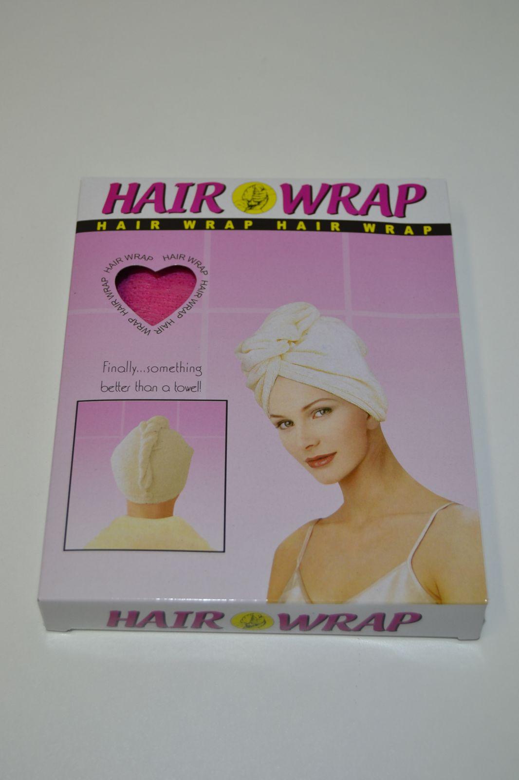 Hair wrap - ručník na umyté vlasy