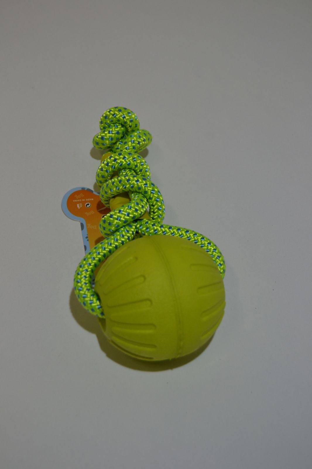 Hračka pro psy - plovoucí míček na provaze - aport